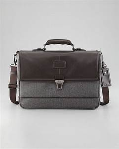 tumi thornbrook document briefcase in gray for men null With document briefcase
