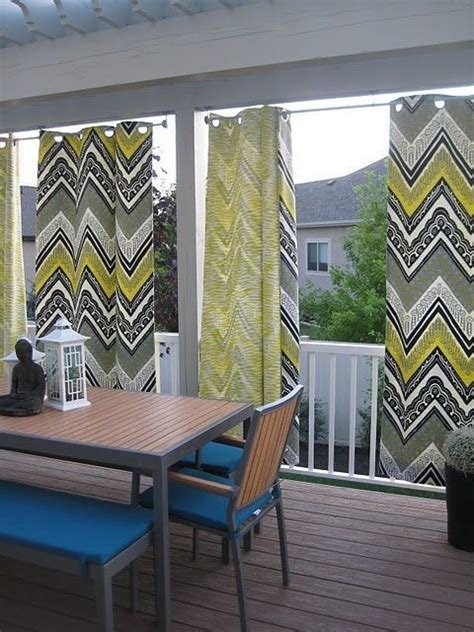 shower curtains outdoors  create curtains  porch