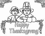Coloring Pilgrim Thanksgiving Pilgrims Printable Central Turkey Lots Even Ready Hats sketch template