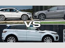 2016 BMW X1 vs 2016 Mercedes Benz GLA vs 2016 Land Rover