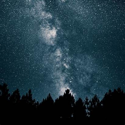 Sky Night Mountain Star Space Nature Stars