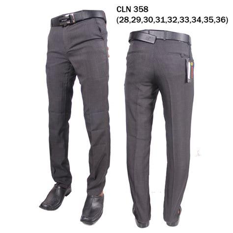 Celana Bahan Kain Slimfit grosir celana bahan kain cln 358 elevenia