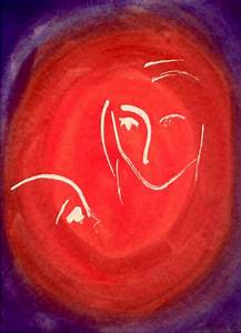 Mother and Child Abstract | A Theme Of Red | Pinterest ...