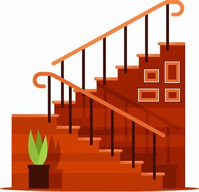 Stairs Clipart Staircase Ladder Steps 2nd Floor