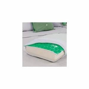 Comfort revolution glacier green hydraluxe cooling gel for Comfort revolution king pillow