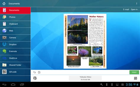how to screenshot on a kyocera phone kyocera mobile print android apps on play