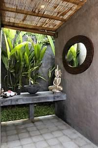 Meuble Bambou Salle De Bain : comment cr er une salle de bain zen ~ Teatrodelosmanantiales.com Idées de Décoration