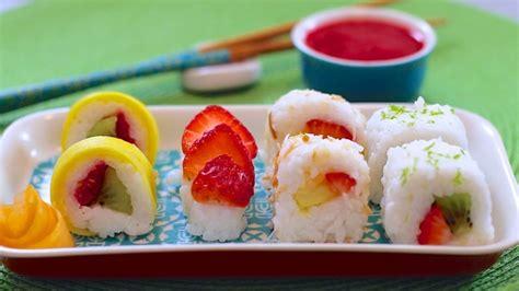 fresh fruit sushi dessert gemma s bigger bolder baking