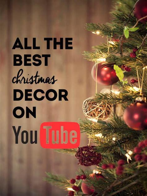 youtube     christmas decor ideas
