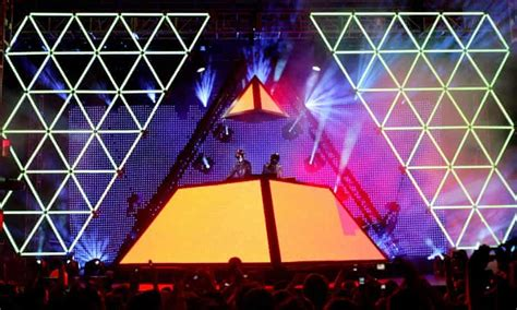 Pyramid selling … Daft Punk introduce dance music to a US ...