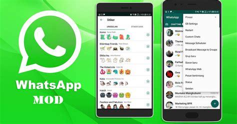 whatsapp mod apk terbaru 2019 banyak fitur untuk