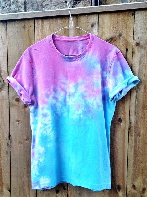 Wonderland Apparel — Blue And Pink Dip Dyetie Dye Tee