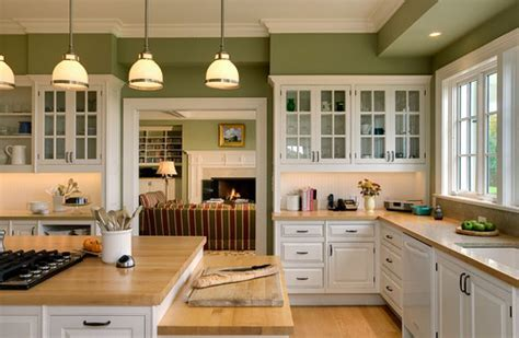 White appliances with shades of white cabinets.