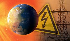 Solar Storm WARNING: Tech blackout and 'Power grid ...
