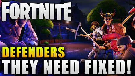 fortnite   fix defenders fortnite defender