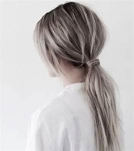 Tie And Dye Blond Cendré : cheveux 20 nuances de gris qui vous feront envie ~ Melissatoandfro.com Idées de Décoration
