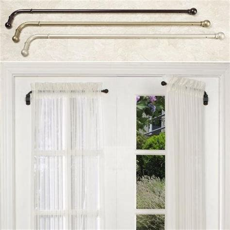 Diy Swing Arm Curtain Rod by 1000 Images About Curtain Rods Track Systems On