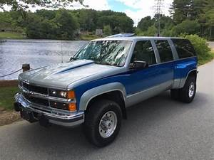 1994 Suburban Custom 2500 3500 6 5 Turbo Diesel 4x4 1