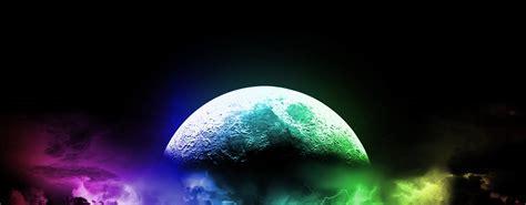 cool wallpapers moon colorful - HD Desktop Wallpapers | 4k HD