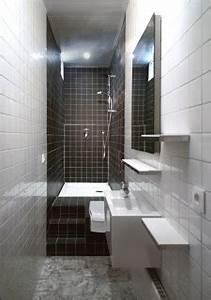 Salle De Bain 3m2 : solutionappart transformer une petite salle de bain couloir ~ Dallasstarsshop.com Idées de Décoration