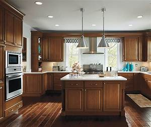 kitchen with maple cabinets homecrest cabinetry With what kind of paint to use on kitchen cabinets for walnut wall art