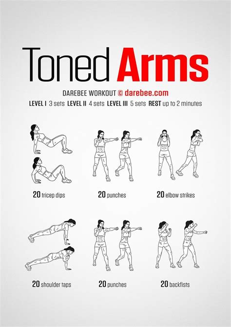 arm workout challenge ideas  pinterest arm