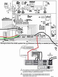 Diagram  Honeywell He360a Humidifier Wiring Diagram Power