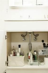 bathroom sink organization ideas 5 tips for the sink organization remodelista