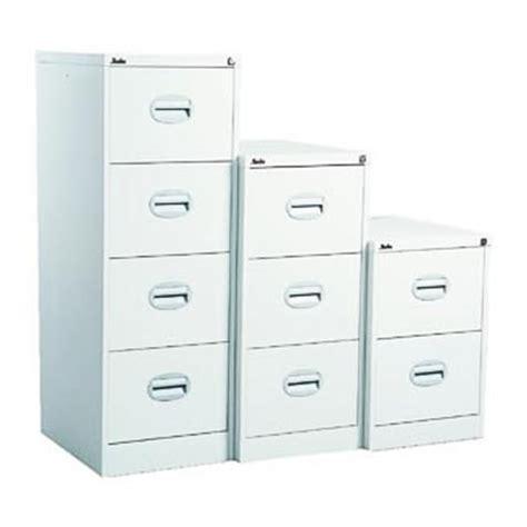4 Drawer White Filing Cabinet