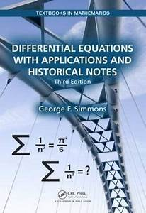 Download Free Differential Equations With Applications And