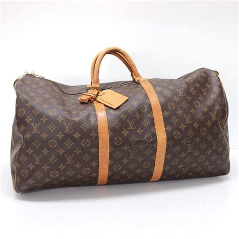 authentic louis vuitton monogram keepall  travel duffle