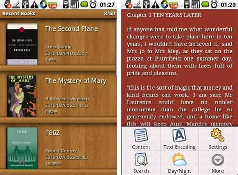 android mobi reader best android apps as ebook reader for your android phone