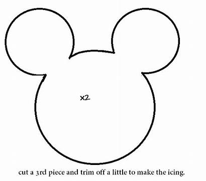Minnie Mouse Template Printable Mickey Head Outline