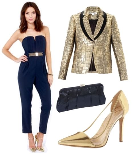 Holiday Party Outfits Elegant Jumpsuit