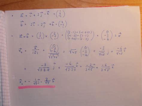 einheitsvektor orthogonal zu  vektoren mathelounge