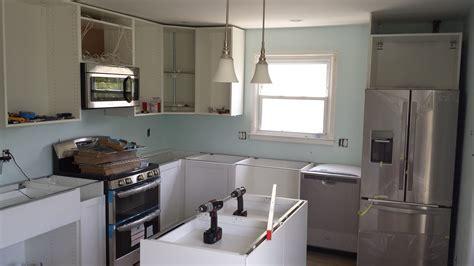 Installing IKEA kitchen cabinets the DIY way   Offbeat
