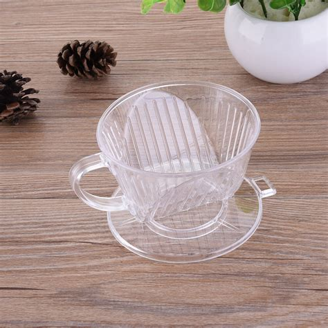 Bunn replacement basket coffee filters. Clear Coffee Filter Cup Cone Drip Dripper Maker Brewer Holder Plastic Reusable | eBay