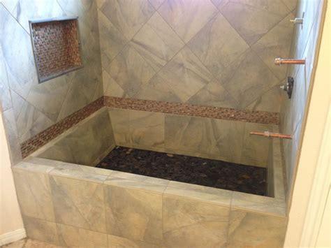 custom tile bathtub google search bathroom pinterest