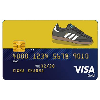Apply now for bad credit card. Adidas samba Credit and Debit Card sticker only on Ink Fish