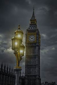 Big Ben Clock Tower At Night Pictures to Pin on Pinterest ...