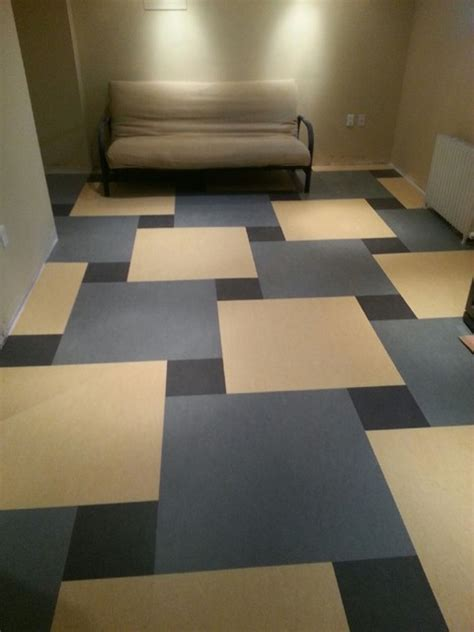 marmoleum click contemporary basement ottawa