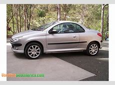 2002 Peugeot 206 cc used car for sale in Johannesburg City