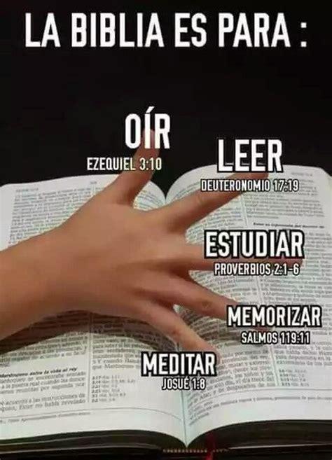 La Biblia Es Para Oír, Leer, Estudiar, Memorizar Y Meditar   Jehova Dios Pinterest