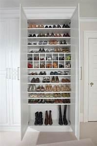 Petit Meuble à Chaussures : tourdissant petit meuble rangement chaussures maison pinterest meuble rangement ~ Teatrodelosmanantiales.com Idées de Décoration