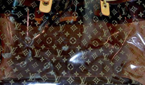 louis vuitton xxl tortoise plastic  leather tote  stdibs
