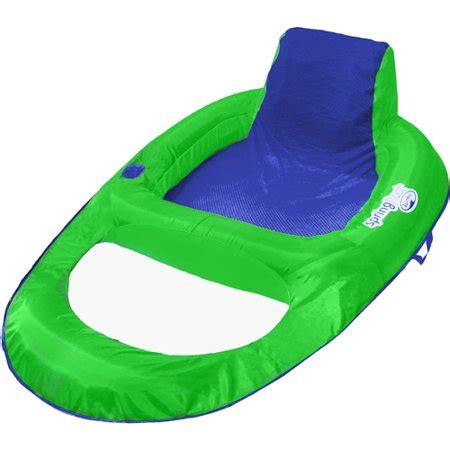 swimways float recliner swimways float recliner lime walmart