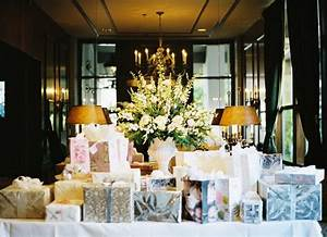 7 hot wedding gift trends of 2013 With wedding gift table ideas