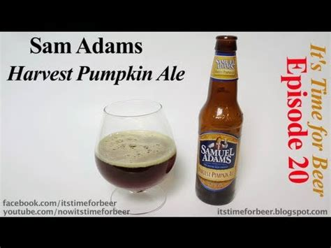 Sam Adams Harvest Pumpkin Ale 6 Pack by Sam Adams Harvest Pumpkin Ale Beer Review A Its