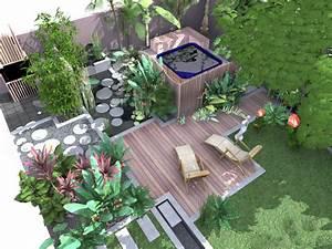 paysagiste ile de la reunion createur de jardins With decoration jardin zen exterieur 0 realisations paysagiste amenagement jardin amenagement
