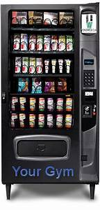 Gym And Fitness Vending Machines
